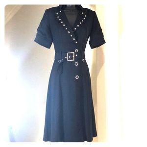 KAREN MILLEN sz 6US, 10UK, 38EU black dress